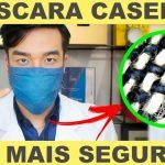 Máscara Caseira Proteção Jeans – Material e Vídeo
