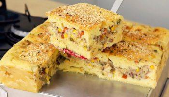 Torta De Sardinha Fácil – Vídeo