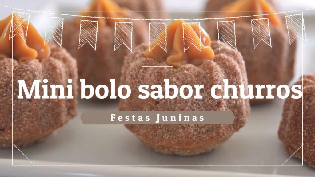Mini Bolo Churros