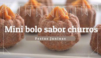 Mini Bolo Churros – Vídeo