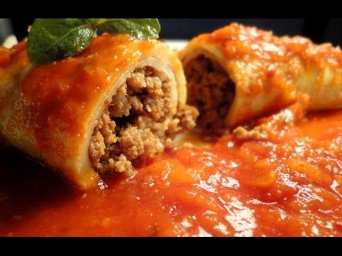 Panqueca De Carne Moída – Vídeo