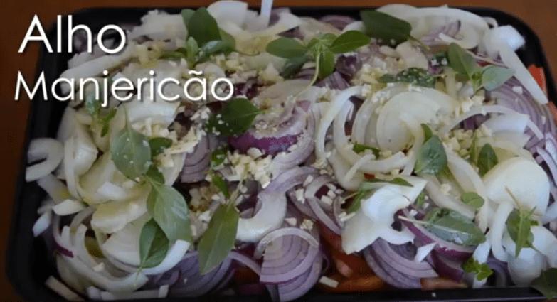 Caponata De Berinjela e Abobrinha – Receita e Vídeo