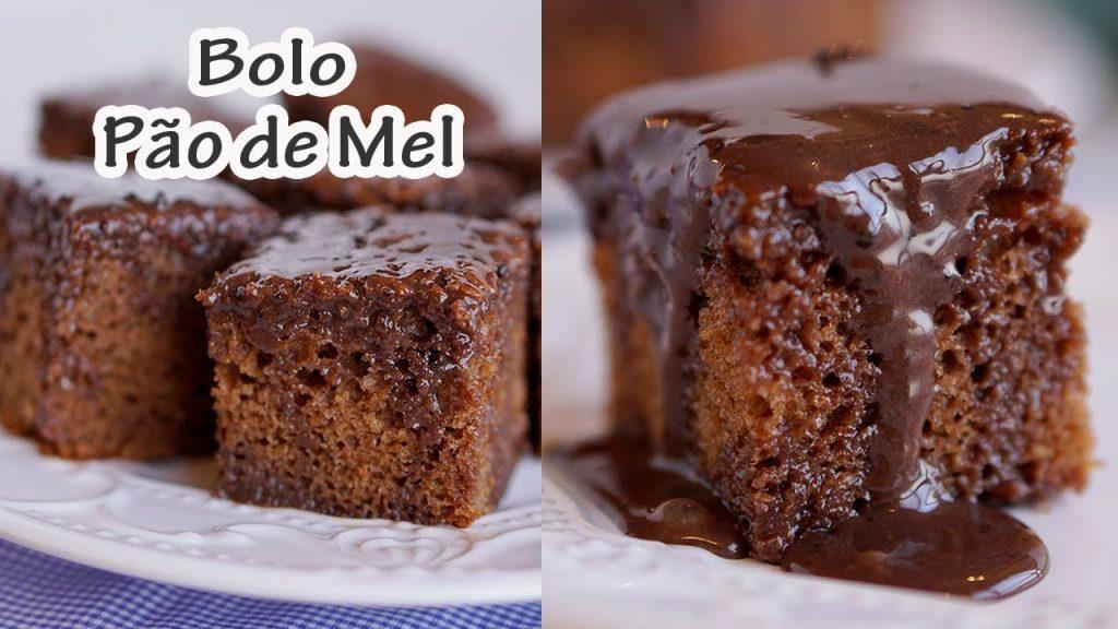 Bolo Pão De Mel