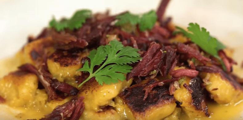 Nhoque De Banana Carne Seca – Vídeo