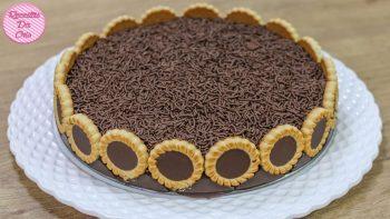 Torta De Chocolate Tortilhas – Vídeo