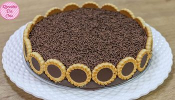 Torta De Chocolate Tortilhas – Vídeo