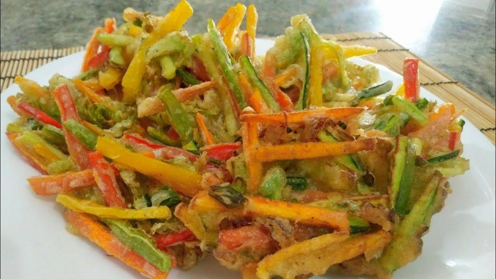 Tempurá De Legumes Fácil