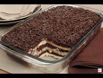 Pavê de Chocolate Fácil – Vídeo