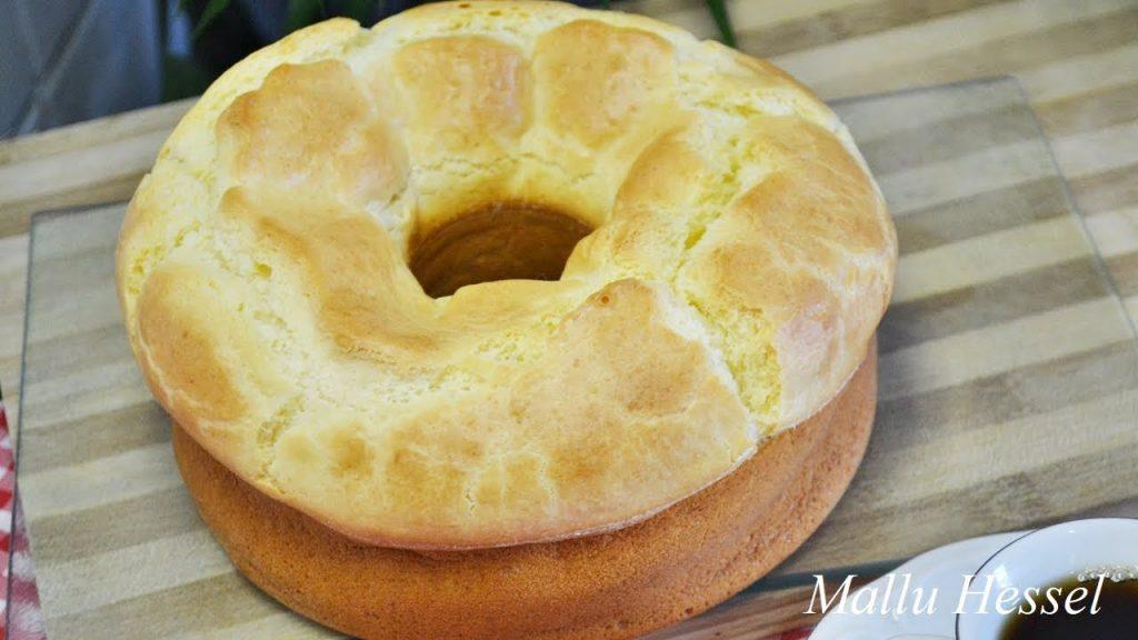 Bolo Pão De Queijo Gigante