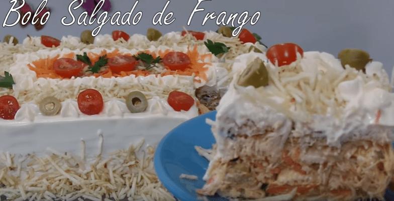 Bolo Salgado De Frango – Vídeo