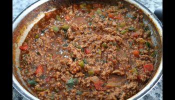 Carne Moída Fácil – Vídeo