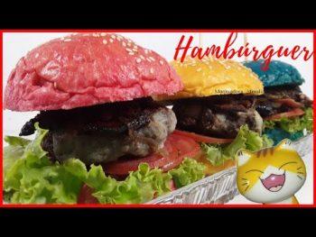 Pão Hambúrguer Caseiro – Vídeo