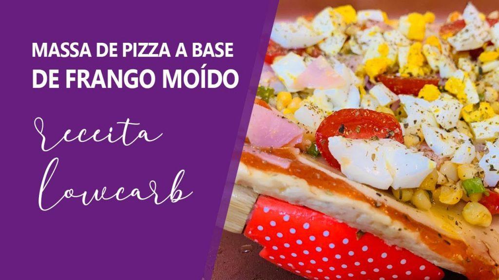 Pizza Massa Frango Moído