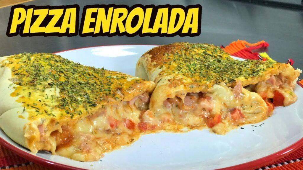 Pizza Enrolada Fácil- Vídeo